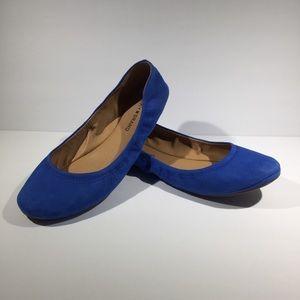 Lucky Brand Emmie Soft Leather Flats Womens Sz 9.5
